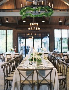 Rustic tables: http://www.stylemepretty.com/2015/04/29/rustic-chic-old-edwards-inn-wedding/ | Photography: Landon Jacob - http://landonjacob.com/