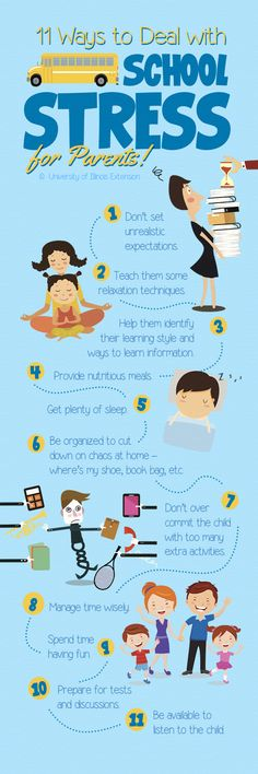 11 Ways to Deal with School Stress (for Parents!)