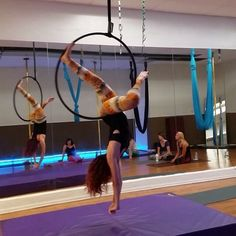 """57 Likes, 5 Comments - Danielle G (@danielleg213) on Instagram: """"A clip from today's Lyra class at @aeriformarts with @leighacosta #lyra #hoop #aerialhoop #aerial…"""""""
