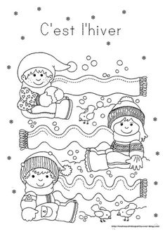 Crafts,Actvities and Worksheets for Preschool,Toddler and Kindergarten.Lots of worksheets and coloring pages. Creative Activities, Winter Activities, Preschool Activities, Tracing Worksheets, Worksheets For Kids, Preschool Christmas, Winter Kids, Winter Theme, Coloring Books