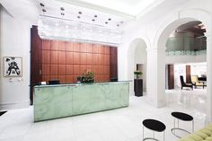 lobby : king's court hotel, prague
