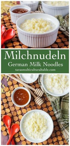 Milchnudeln, German noodles simmered in milk and sweetened with sugar or honey, for Comfort Food Soup and Stew Recipes. Yummy Pasta Recipes, Dinner Recipes, Delicious Recipes, Easy Recipes, Yummy Food, Cold Pasta Dishes, Vegan Lentil Soup, Crazy Kitchen, Homemade Soup