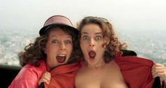 One of the best scenes ... EVER (Saffy & Edina) Patsy And Edina, Julia Sawalha, Senior Citizen Activities, Exercise For Six Pack, Punk Rock Girls, Jennifer Saunders, Scarred For Life, Joanna Lumley, Ab Fab