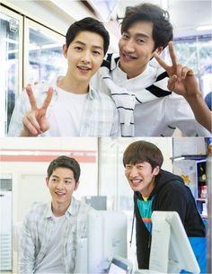 'Sound of Heart' reveals still cuts of Lee Kwang Soo and cameo Song Joong Ki | allkpop.com