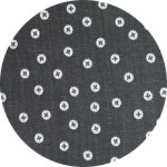 Plus Dots Double Gauze Grey Charms Collection by Ellen Luckett Baker