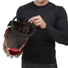 Mega Man Helmet, Iron Man Helmet, Iron Man Armor, Modest Summer Outfits, Summer Outfits For Teens, Teenage Girl Outfits, Demogorgon Costume, Iron Man Cosplay, Boba Fett Helmet