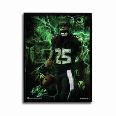 Seattle Seahawks Richard Sherman Bird of Prey 24x18 Football Poster