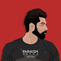 Its a basic but lil bit time taking vector art of Parmish verma (Actor/Director) in india Cartoon Wallpaper, Hd Wallpaper, Wallpapers, Parmish Verma Beard, Beard Look, Beard Man, India Actor, Speed Art, Smoke Art