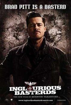INGLOURIOUS BASTERDS -2009-Original 27x40 D/S ADV movie poster - BRAD PITT style