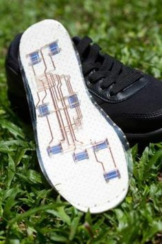 Wearable Sensing Tech Lets Stretchable Electronics Drape Around Our Body ...These smart shoes have this fabric fitted in the shape of the sole on it, sensors embedded in which send alerts when say an elderly falls over...