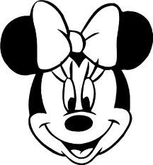 photo minnie mouse printable template coloring pages images