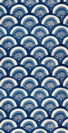 Beautiful patterns in ocean blues. Pretty Patterns, Beautiful Patterns, Color Patterns, Motifs Textiles, Textile Patterns, Textile Art, Surface Pattern Design, Pattern Art, Motif Design