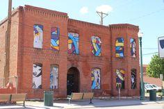 Arts district in El Paso, TX