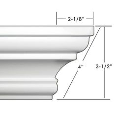 Easy Crown Molding Peel and Stick Crown Molding, Easy Crown Molding, Wood Pallet Bar, Cornice Design, Wall Design, House Design, Pillar Design, Moldings And Trim, Crown Moldings, Plastic Moulding