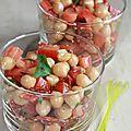 Allez, en cette fin de semaine, c'est recette express!!! 5 minutes de préparation et voici une salade pleine de...
