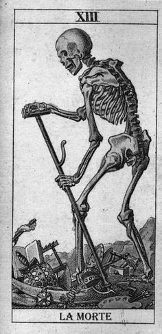 ...tarot skeleton death