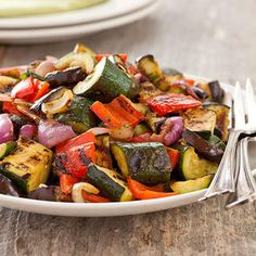 Grilled Vegetable Salads on Pinterest | Grilled Vegetables, Grilled ...