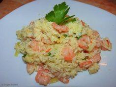 Arroz Frito, Baked Rice, Rice Balls, Portuguese Recipes, Rice Recipes, Drinking Tea, Carne, Risotto, Potato Salad