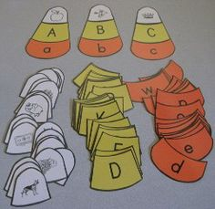 Ideas for alphabet games, word cards, math games, sequencing, etc.