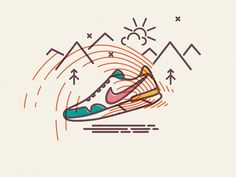 James Oconnell - Nike (colours and lines series)