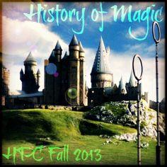 History of Magic // Fall 2013 Semester // Harry Potter Craftalong // craftster.org