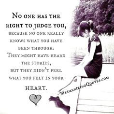 None of has the right to #judge others since we have own individuality, own #struggles in #life. Examine #yourself first before you judge others. Remember, no one is perfect in this #world. We are all equal in God's eyes. ~ #ModelindaBazan