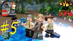 LEGO JURASSIC WORLD #5 - ISLA NUBLAR - PT-BR