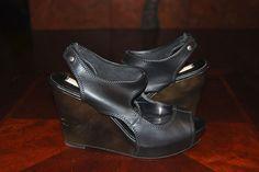 Simply Vera Wang Mylene Peep Toe Wedge Sandals, Size 9 #JessicaSimpson #PlatformsWedges