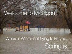 Michigan Spring! (this is at riverside park, GR, MI!)