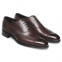 Cheaney Balmoral Oxford in Bronzed Espresso Calf Leather