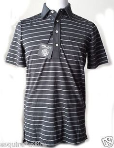 men casual shirts for sale : RLX by Ralph Lauren men size S #POLO shirt gray with stripes ($95) RalphLauren withing our EBAY store at  http://stores.ebay.com/esquirestore