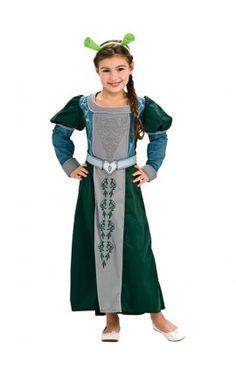 disfraz de fiona shrek felices para siempre deluxe para nia