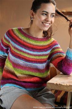 Sweater by Noro. Спицы.. Обсуждение на LiveInternet - Российский Сервис…