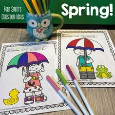 Spring Coloring Pages - 144 Pages of Spring Fun - Four Pack Coloring Book Bundle Spring Coloring Pages, Coloring Book Pages, Parent Volunteers, Indoor Recess, Writing Centers, Second Grade Teacher, Writing Lessons, Morning Work, Party Treats