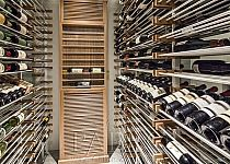 C U S T O M | Modern wine cellar by Papro Consulting