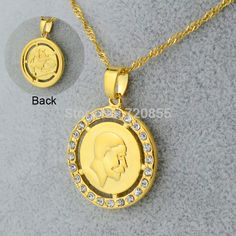 Find More Chain Necklaces Information about Israel Great Celebrity Gold Money & Templar Knight Solomon Famous Gift Coins Chain Necklaces & Pendants 18k Real Gold Plated GP,High Quality Chain Necklaces from Golden Mark Jewelry Factory on Aliexpress.com Buy Coins, Gold Money, Chain Necklaces, Coin Jewelry, Solomon, Silver Pendant Necklace, Israel, Bangle Bracelets, 18k Gold