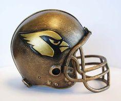 NFL Arizona Cardinals Desktop Helmet Statue >>> Click on the image for additional details.