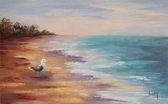 Rencontre matinale, peinture originale aux pastels secs
