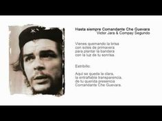 carlos puebla - Hasta Siempre Comandante Che Guevara lyrics (44th Anniversary passed) - YouTube