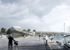 Gallery of Schauman & Nordgren Architects' Winning Masterplan Envisages New Harbour Front Identity - 1