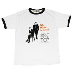 "Style Council ""Shout to the Top"" Ringer T-Shirt. Available £16.99 from teeconnection.co.uk"