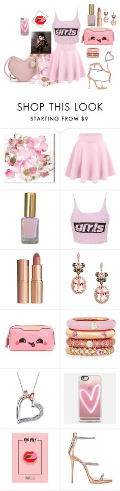 """""""GIRL!"""" by girl-crazy-284 on Polyvore featuring moda, Oliver Gal Artist Co., Alexander Wang, Charlotte Tilbury, Effy Jewelry, Anya Hindmarch, Adolfo Courrier, Disney, Casetify e Giuseppe Zanotti"""