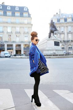 Frassy / Double Polka //  #Fashion, #FashionBlog, #FashionBlogger, #Ootd, #OutfitOfTheDay, #Style