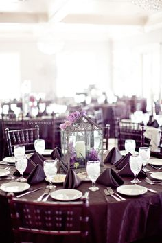 LOVE the lantern centerpieces - photo by Dallas Photographers - Ivy Weddings