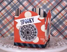 Cindy's video on making a luminary with the Window Frames framelits. Cute!