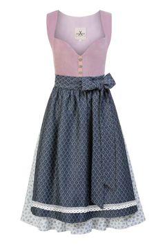 JAN&INA Trachten - Samt Jacquard Dirndl in Lavendel Hellblau.  Eine traumhafte Kombi auch in Rot/ tanne. Elegant, Skater Skirt, Modern, Skirts, Clothes, Designer, Shopping, Medium, Google