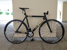 Cinelli Mash Custom (MatteBlackGold) - Pedal Room