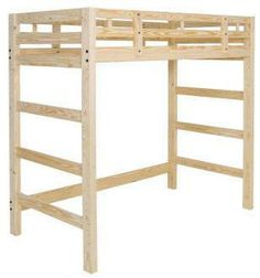 diy loft bed plans for teens | College Loft Bunk Beds Plans diy storage cube shelves