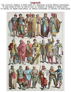 Byzantines, circa 700-1000 AD.