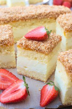 Ciasto Wenus Sweet Bakery, Happy Foods, Polish Recipes, Middle Eastern Recipes, Love Cake, Let Them Eat Cake, Yummy Cakes, Oreo, Food And Drink